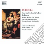 Purcell Henry - Ode Per Il Giorno Di S.cecilia, Te Deum, The Noise Of Foreign Wars, Jubilate Deo cd musicale di Henry Purcell