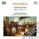 Concerti grossi op.1: n.1 > n.6 cd musicale di Pietro Locatelli