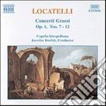 Concerti grossi op.1: n.7 > n.12 cd musicale di Pietro Locatelli