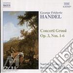 Concerti grossi op.3 cd musicale di HANDEL GEORGE FRIDERIC