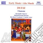 Chansons 08 cd musicale di Guillaume Dufay