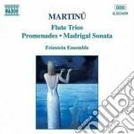 Trio x fl, vlc e pf, trio x fl, vl e pf, cd musicale di Bohuslav Martinu