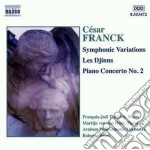 Variazioni sinfoniche, les djinns, conce cd musicale di CÉsar Franck