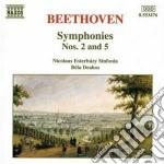 Sinfonia n.2 op.36, n.5 op.67 cd musicale di Beethoven ludwig van