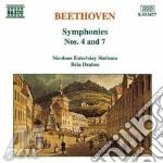 Symphonies n. 4 & 7 cd musicale di Bela Drahos