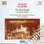 The red poppy (balletto completo) cd musicale di Gliere