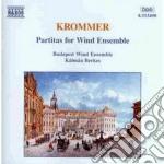 Partita x fiati op.57, 71, 78, 3 marce n cd musicale di Franz Krommer