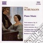 Sonata in sol min, 3 romanze op.11, soir cd musicale di Clara Schumann