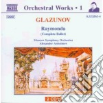 Raymonda op.57 (balletto completo) cd musicale di Glazunov alexander k