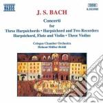 Multiple concerti cd musicale di Johann Sebastian Bach