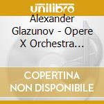 Orchestral works vol.16 cd musicale di GLAZUNOV