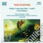 Violin concertos nos.1&2 cd musicale di WIENIAWSKI