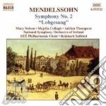 Symphony no.2 cd musicale di Felix Mendelssohn