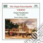 Sinfonia x organo n.3 op.28 e n.6 op.59 cd musicale