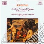 ANCIENT AIRS AND DANCES/SUITE N.1/3 cd musicale di Ottorino Respighi