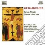 In croce, sieben worte (sette parole), s cd musicale di Sofia Gubaidulina