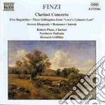 Concerto x clar op.31, 5 bagatelle op.23 cd musicale di Gerald Finzi
