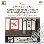 Concerto x orchestra d'archi, concertant cd musicale di Alan Rawsthorne