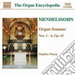 Sonate x organo op.65 n.1 > n.6 cd musicale di Felix Mendelssohn
