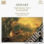 Mozart Wolfgang Amadeus - Sonate X Vl Vol.4: Sonate N.13 K 454, N.14 K 481 cd musicale di Wolfgang Amadeus Mozart
