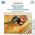 Concerto per piano, rirual dances from t cd musicale di Michael Tippett