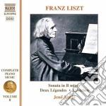 Opere x pf (integrale) vol. 8: sonata in cd musicale di Franz Liszt