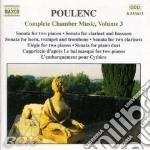 Complete chamber music vol3 cd musicale di POULENC