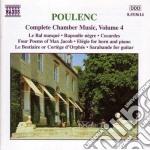 Musica da camera (integrale) vol.4: le b cd musicale di FranÇis Poulenc