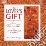 A lover's gift from him to her cd musicale