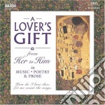 A lover's gift from her to him cd musicale