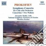 Sinfonia concerto x vlc e orchestra op.1 cd musicale di Sergei Prokofiev