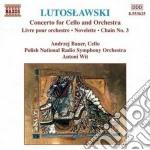 Opere x orchestra (integrale) vol.4: con cd musicale di Witold Lutoslawski