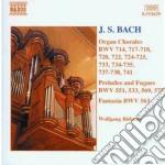 Bach J.S. - Corali Per Organo cd musicale di Johann Sebastian Bach