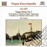 Opere per organo (integrale) vol.2 cd musicale di Jehan Alain
