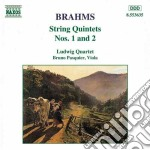 String quintets n. 1 & 2 cd musicale di Bruno Pasquier