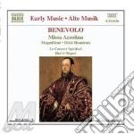Missa azzolina, dixit dominus, laetatus cd musicale di Orazio Benevolo