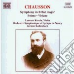 Sinfonia op.20, poeme op.25 (x vl e orch cd musicale di Ernest Chausson