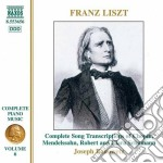 Opere x pf (integrale) vol. 6: trascrizi cd musicale di Franz Liszt