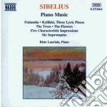 Sibelius Jean - Musica X Pf: Killikki Op.41, 5 Pezzi Op.75, 5 Pezzi Op.85, 5 Impressioni Caratte cd musicale di Jean Sibelius