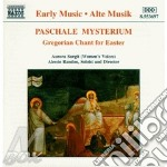 GRAGORIAN CHANT FOR EASTER cd musicale