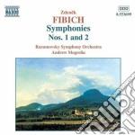 Sinfonia n.1 op.17, n.2 op.38 cd musicale di Fibich