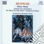 Respighi Ottorino - Antiche Arie E Danze, 6 Pezzi X Pf, Sonata In Fa Min, 3 Preludi Sopra Melodie Gr cd musicale di RESPIGHI