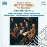 Opere x fl vol.1: primo libro dei pezzi cd musicale di Hotteterre jacques m