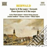 Berwald Franz - Settimino In Sib, Serenata, Quartetto Con Pf. cd musicale di Franz Berwald