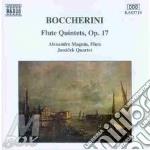 Flute quintets op.17 cd musicale di BOCCHERINI