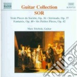 Guitar collection op. 36/42 cd musicale di SOR