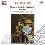 Tafelmusik vol.4 cd musicale di TELEMANN