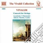 Concerti x archi: concerti rv 114, 161, cd musicale di Antonio Vivaldi