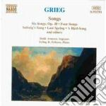 Lieder cd musicale di Edvard Grieg