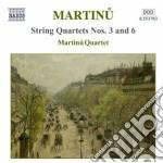 Quartetti per archi, vol.2: quartetti nn cd musicale di Bohuslav Martinu